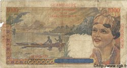 1000 Francs GUADELOUPE  1946 P.37 B