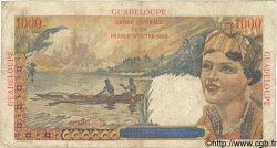 1000 Francs GUADELOUPE  1946 P.37 B+