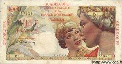 1000 Francs GUADELOUPE  1946 P.37 TB+