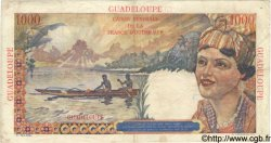 1000 Francs Union Française GUADELOUPE  1947 P.37 TB+