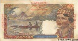 1000 Francs GUADELOUPE  1946 P.37 TTB à SUP