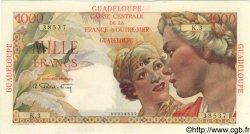 1000 Francs GUADELOUPE  1946 P.37 SPL