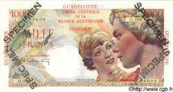 1000 Francs GUADELOUPE  1946 P.37s pr.NEUF