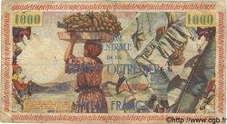 1000 Francs GUADELOUPE  1960 P.39 B à TB