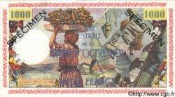 1000 Francs GUADELOUPE  1960 P.39s SPL