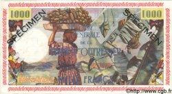 1000 Francs GUADELOUPE  1960 P.39s pr.NEUF