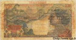 1NF sur 100 Francs GUADELOUPE  1960 P.41 pr.TB