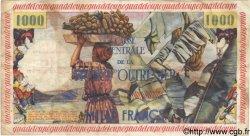 10 NF sur 1000 Francs GUADELOUPE  1960 P.43 TB+