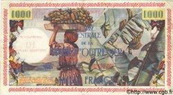 10 NF sur 1000 Francs GUADELOUPE  1960 P.43 TTB+ à SUP