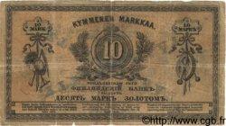 10 Markkaa FINLANDE  1878 P.A44 pr.TB