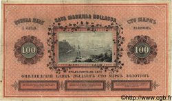 100 Markkaa FINLANDE  1882 P.A48b pr.TTB