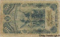 20 Markkaa FINLANDE  1898 P.005 B+