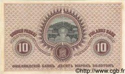10 Markkaa FINLANDE  1909 P.010a SUP