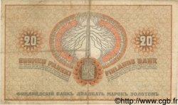 20 Markkaa FINLANDE  1909 P.011a pr.TTB