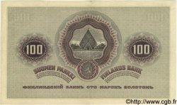 100 Markkaa FINLANDE  1909 P.013b? TTB+