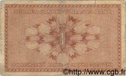 1 Markka FINLANDE  1916 P.019 B+