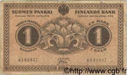1 Markka FINLANDE  1916 P.019 TB