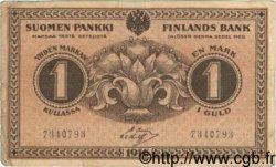 1 Markka FINLANDE  1916 P.019 TB+