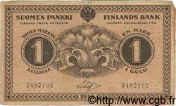 1 Markka FINLANDE  1916 P.019 TTB