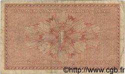 1 Markka FINLANDE  1916 P.019A TB