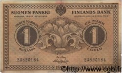 1 Markka FINLANDE  1916 P.019G TB