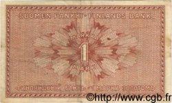 1 Markka FINLANDE  1916 P.019G TTB
