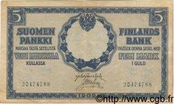 5 Markkaa FINLANDE  1909 P.020 TTB+