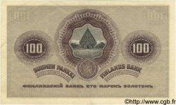 100 Markkaa FINLANDE  1909 P.022 TTB+