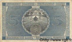 5 Markkaa FINLANDE  1909 P.024a TTB