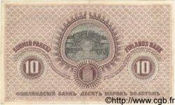 10 Markkaa FINLANDE  1909 P.025 TTB