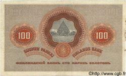 100 Markkaa FINLANDE  1909 P.031 TTB