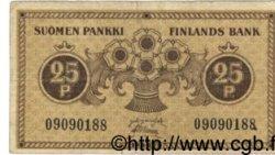 25 Pennia FINLANDE  1918 P.033 TB