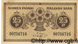 25 Pennia FINLANDE  1918 P.033 pr.NEUF