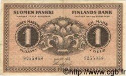 1 Markka FINLANDE  1918 P.035 TTB+