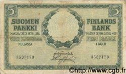 5 Markkaa FINLANDE  1918 P.036 TB
