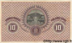 10 Markkaa FINLANDE  1918 P.037 TTB