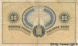 20 Markkaa FINLANDE  1918 P.038 TB