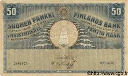 50 Markkaa FINLANDE  1918 P.039 TTB