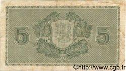 5 Markkaa FINLANDE  1922 P.042 TB
