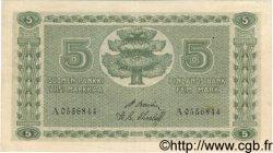 5 Markkaa FINLANDE  1922 P.042 pr.TTB