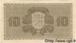 10 Markkaa FINLANDE  1922 P.043 TTB+ à SUP