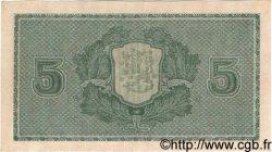 5 Markkaa FINLANDE  1922 P.049 TTB+