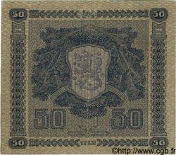 50 Markkaa FINLANDE  1922 P.064a TTB