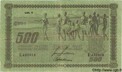 500 Markkaa FINLANDE  1922 P.066a TB