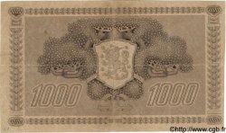 1000 Markkaa FINLANDE  1922 P.067 TTB
