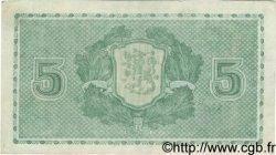 5 Markkaa FINLANDE  1939 P.069a TTB+