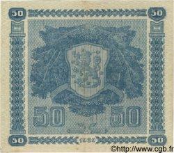 50 Markkaa FINLANDE  1939 P.072a TTB