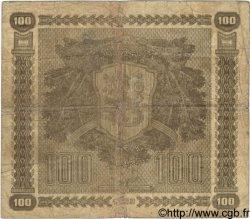 100 Markkaa FINLANDE  1939 P.073a B+