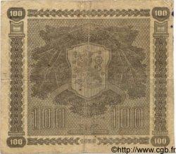 100 Markkaa FINLANDE  1939 P.073a TB+