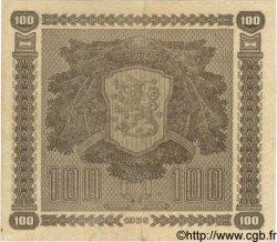 100 Markkaa FINLANDE  1939 P.073a TTB à SUP